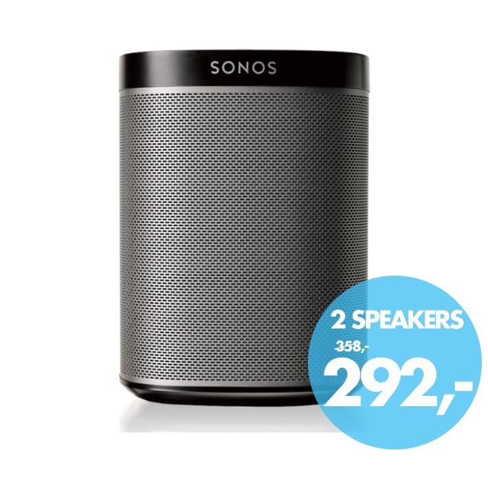 Dagaanbieding - Sonos wifi speaker PLAY:1 zwart dagelijkse koopjes