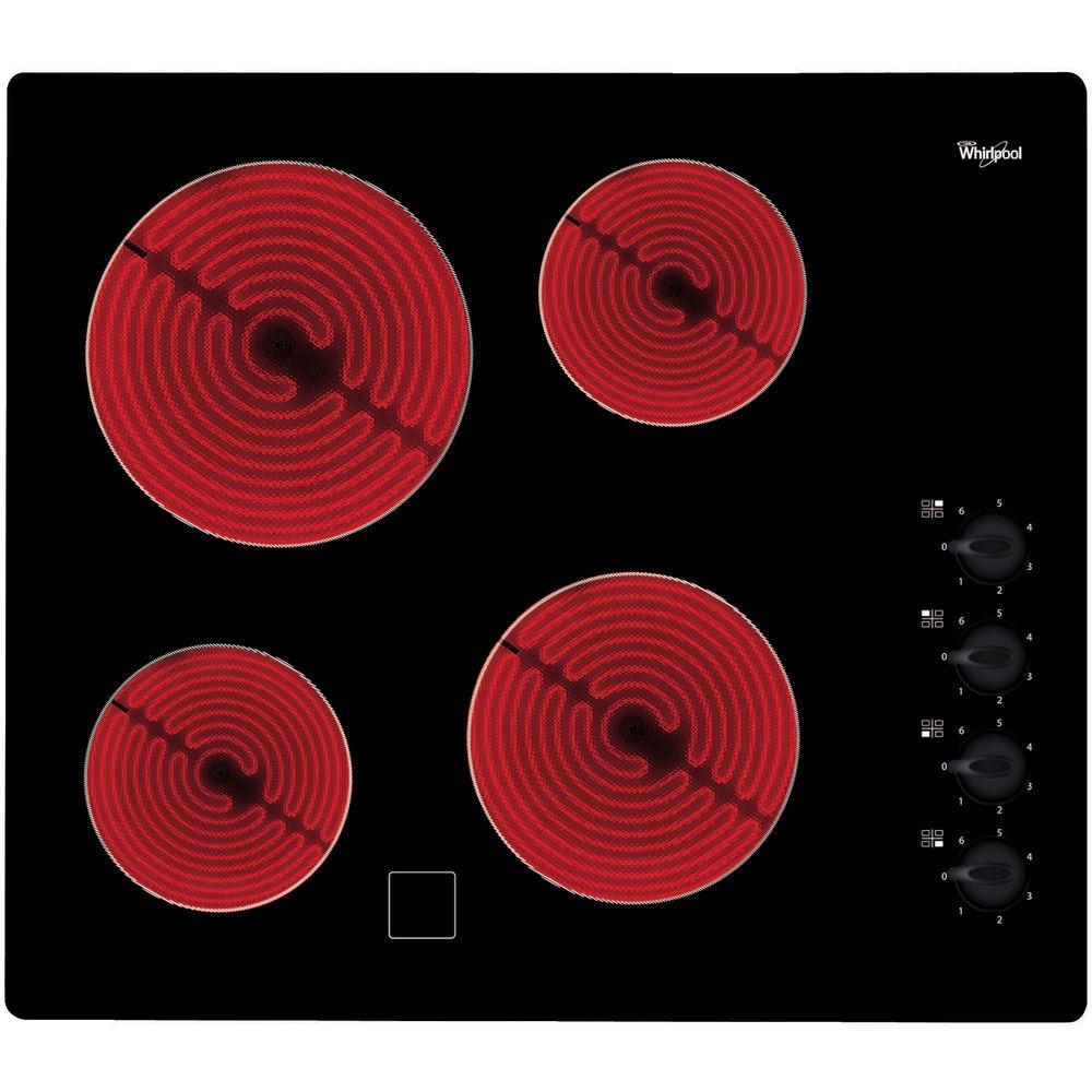 Whirlpool AKM9010NE Keramische inbouwkookplaat Zwart