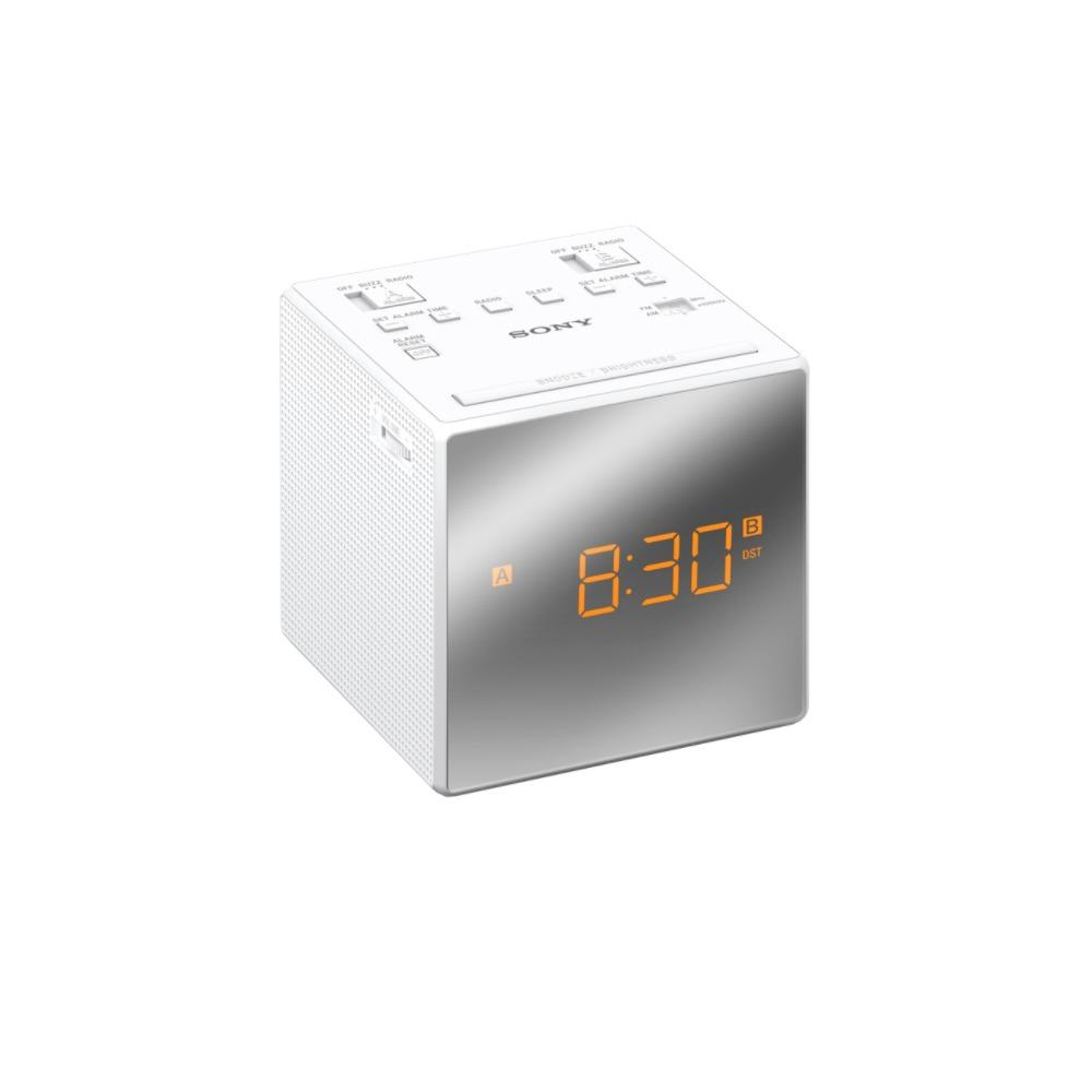 Sony ICF-C1T Wekker radio Wit