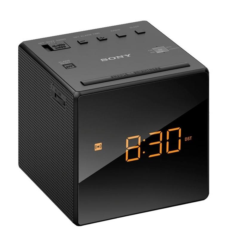 Sony wekker radio ICF C1 zwart