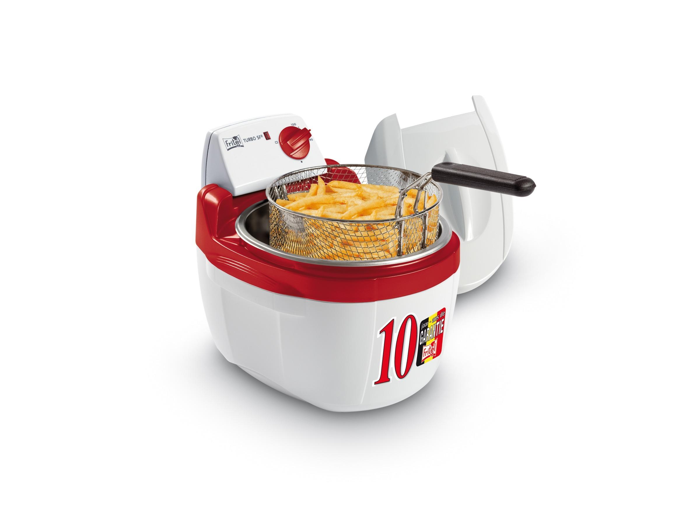 Fritel friteuse TURBO SF 4200 Koude Zone wit