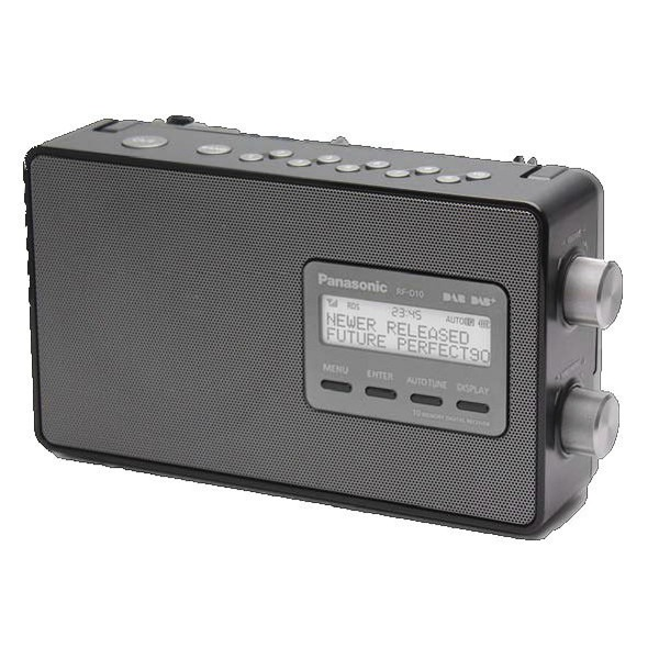 Korting Panasonic RF D10EG K dab radio