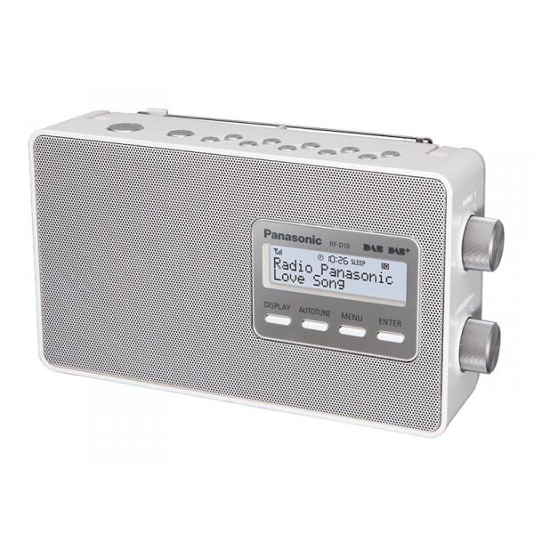 Panasonic dab radio RF-D10EG-W wit