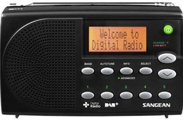 Korting Sangean DPR 65 dab radio