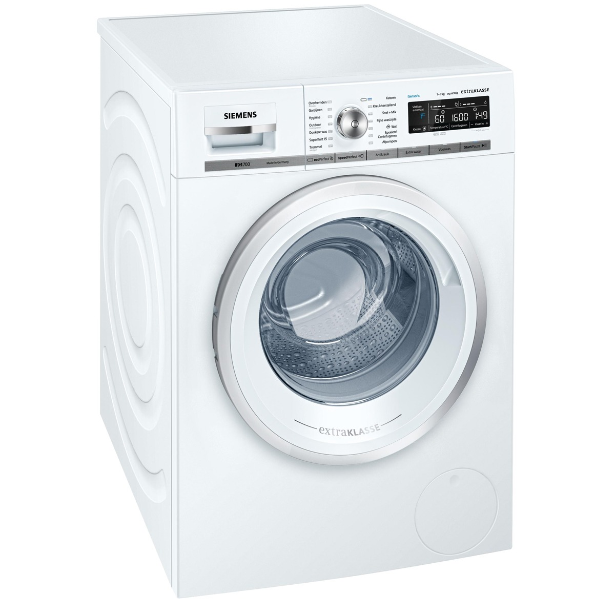 Siemens WM16W592NL vrijstaande wasautomaat