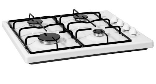 Etna KGV158WIT Gas kookplaat Wit