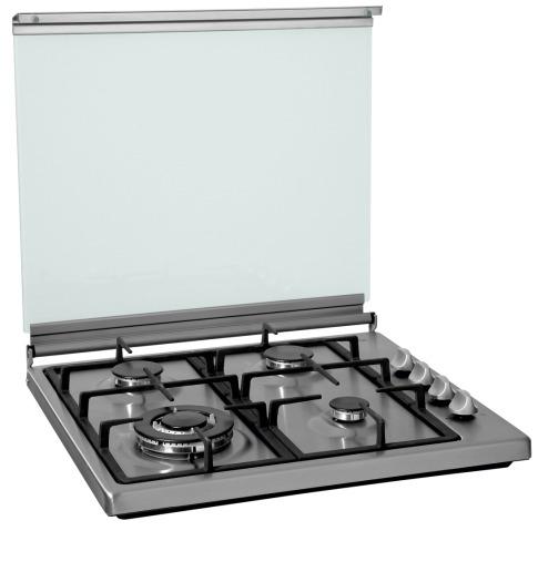 Etna KGV558WRVS gas kookplaat