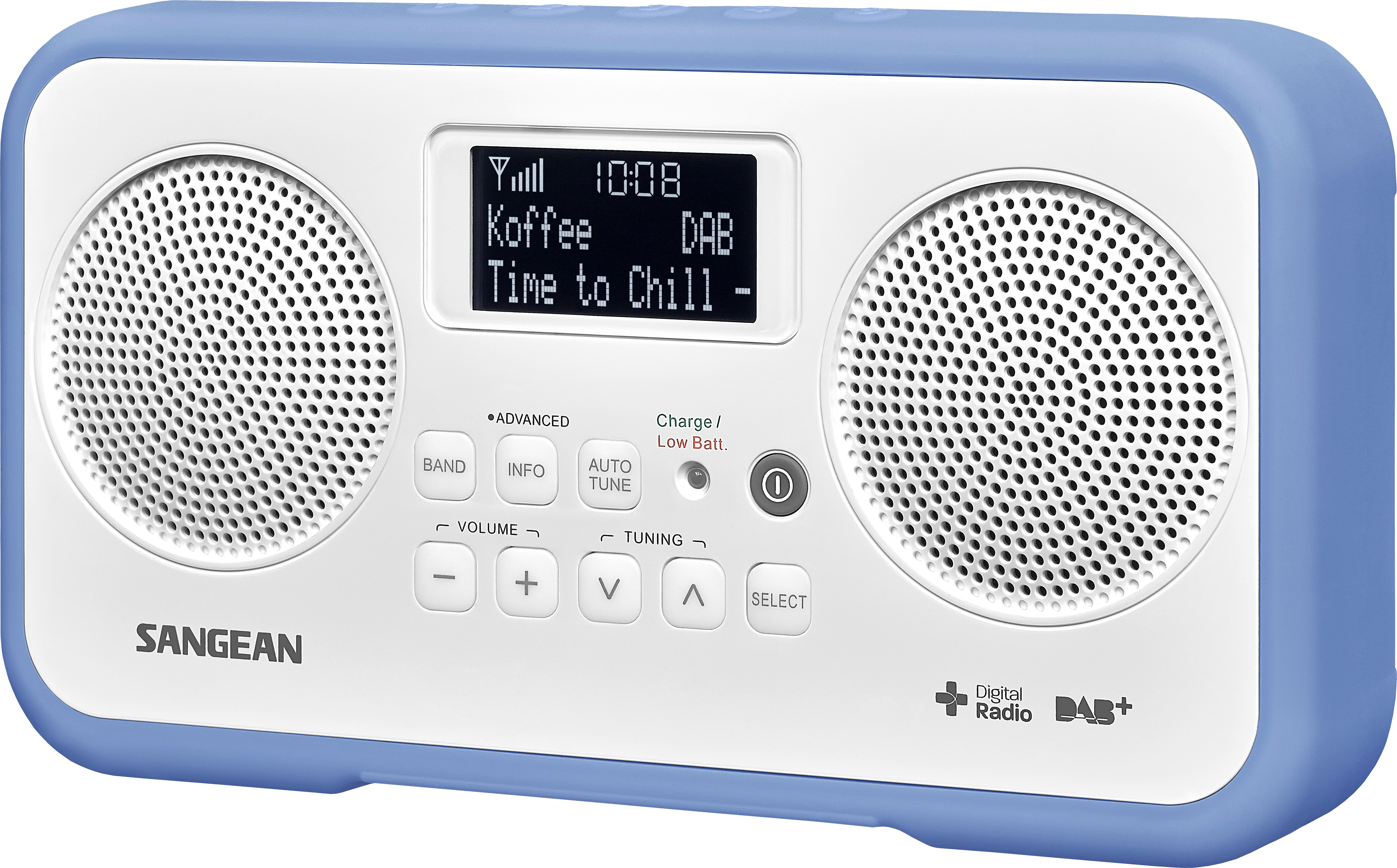 Korting Sangean DPR 77 dab radio