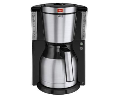 Melitta koffiefilter apparaat LOOK IV THERM DELUXE zwart