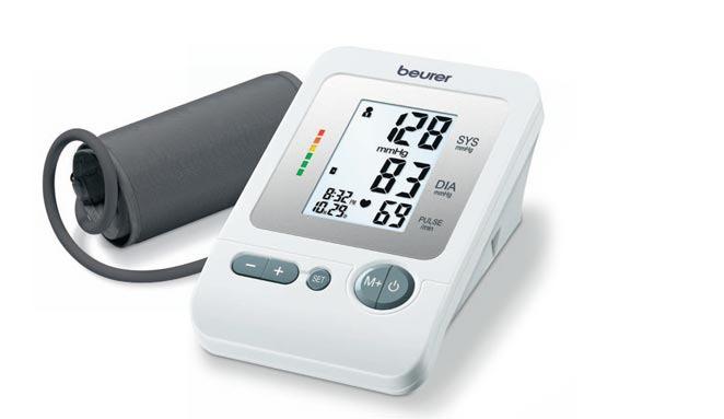Beurer bloeddrukmeter BM 26 wit