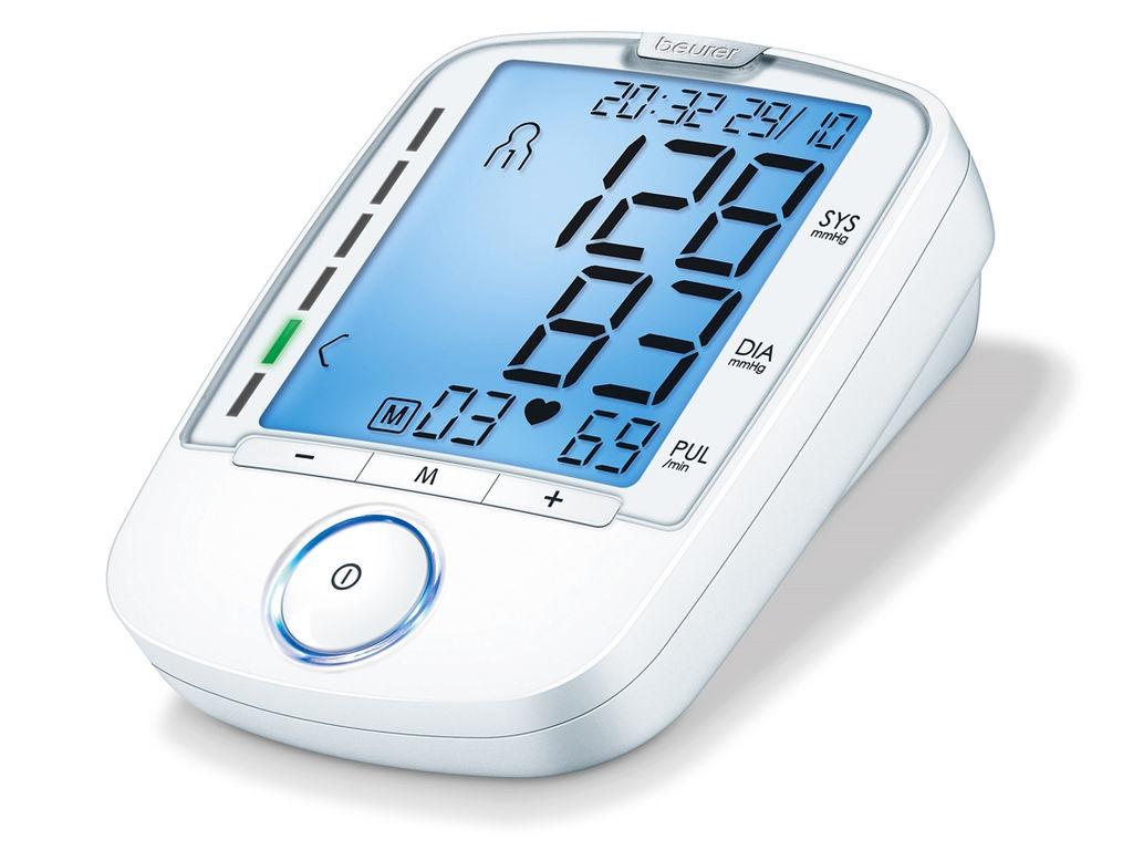 Beurer bloeddrukmeter BM 47 wit