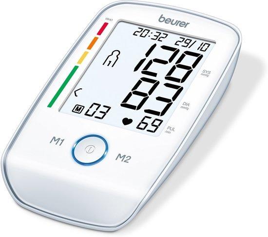 Beurer bloeddrukmeter BM 45 wit
