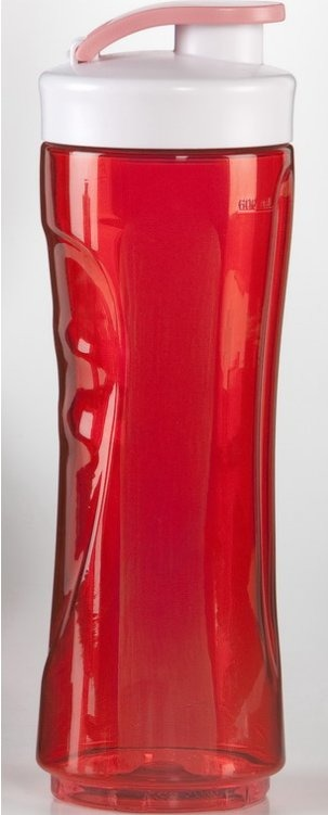 DOMO Reserve Drinkfles 600 ml, rood exemplaar