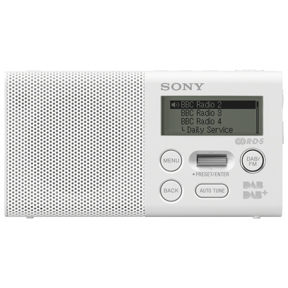 Korting Sony XDR P1DBP dab radio