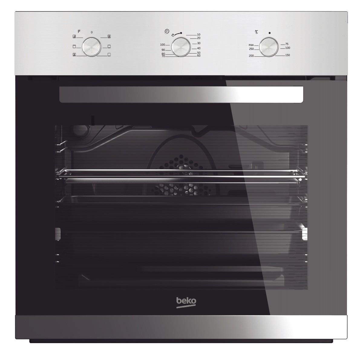 Beko BIE22100X Inbouw oven Zwart