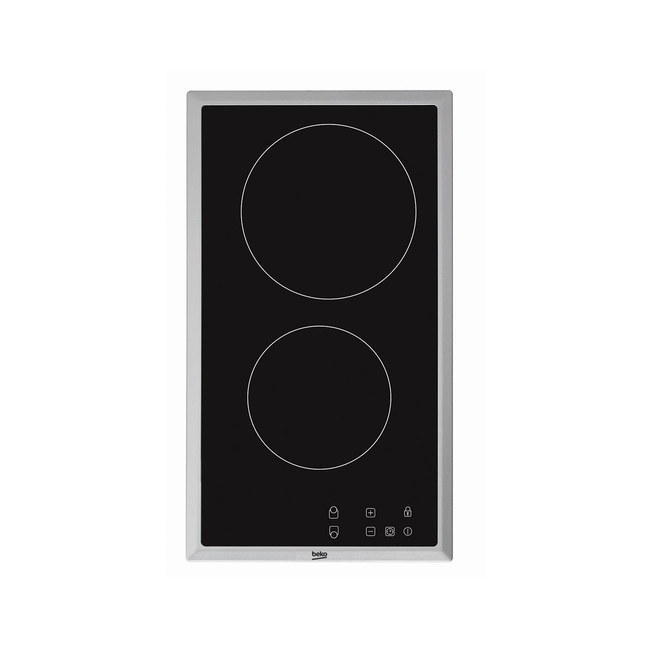Beko HDMC32400TX keramische inbouwkookplaat