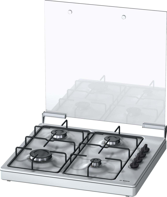Bosch PBP0C5Y80N Gas kookplaat Zwart