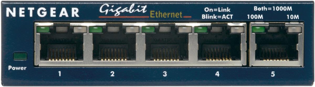 Korting Netgear Prosafe GS105GE switch