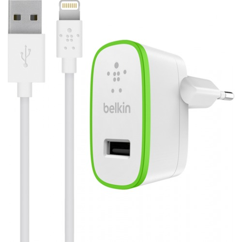 Belkin oplader BOOST UP Thuislader + Lightning kabel wit