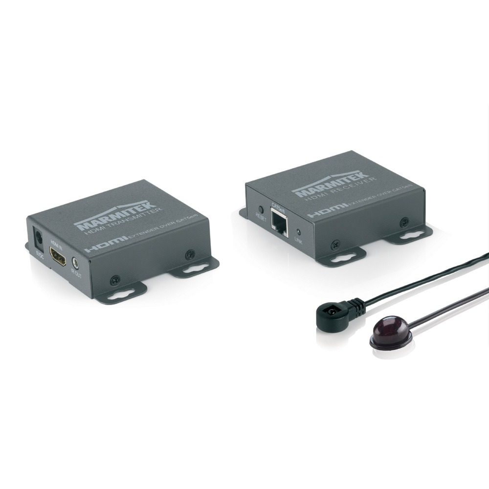 Marmitek HDMI Extender (verlenging) via netwerkkabel RJ45 60 m 1920 x 1080 pix