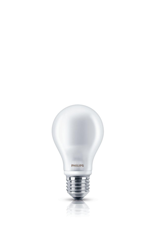 Philips led verlichting LED lamp E27 7W 806Lm classic mat 2 stuks