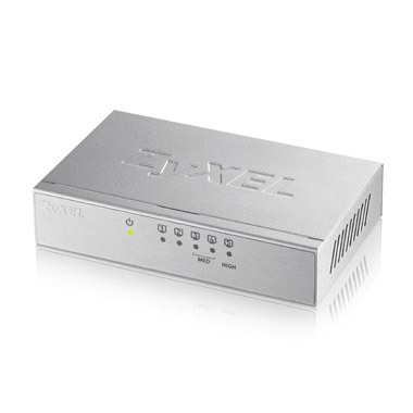 Zyxel externe 5 poorts Gigabit switch zilver Switch