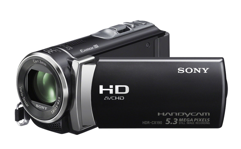 Korting Sony HDRCX450B camcorder