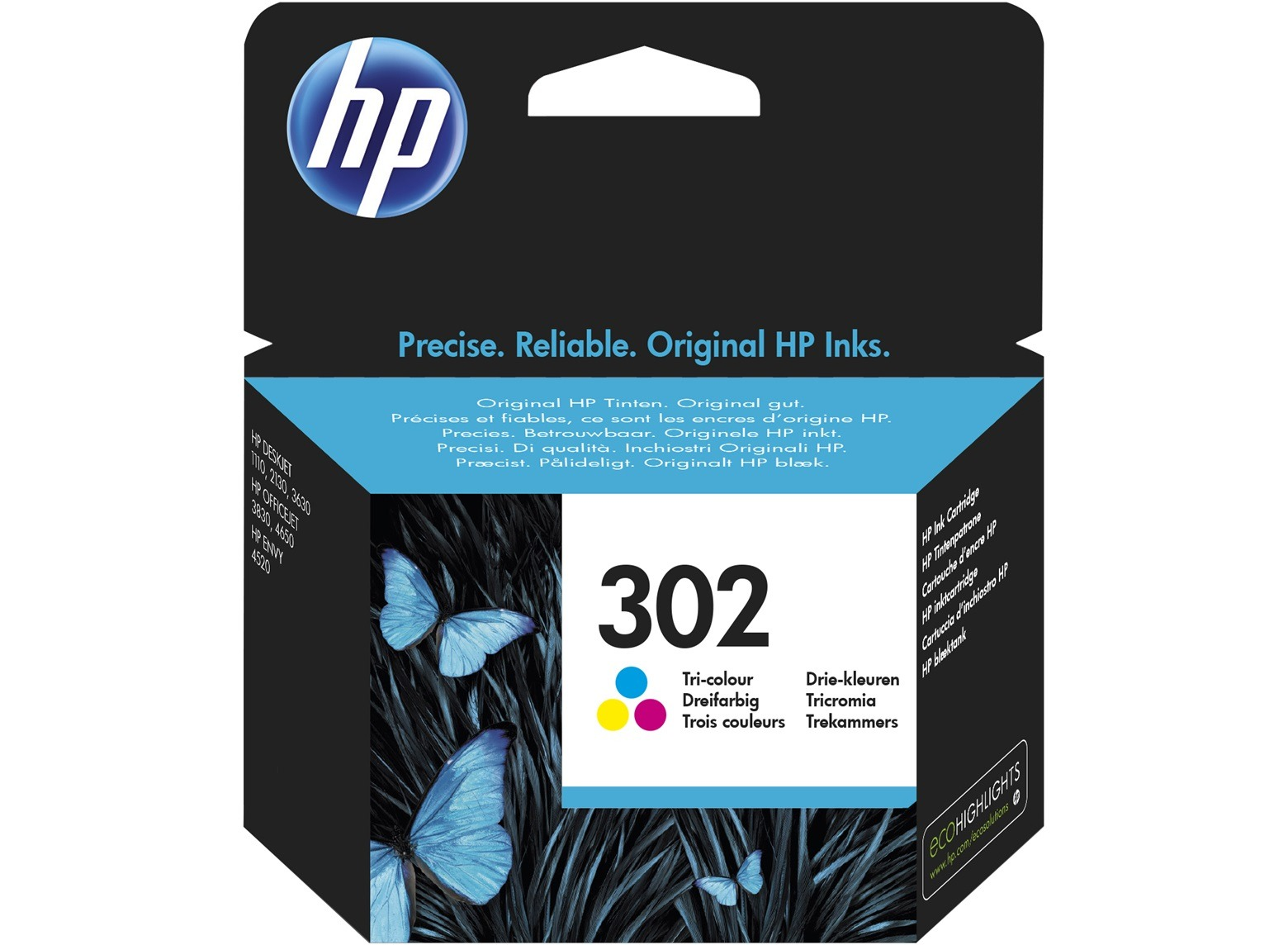 HP inkt 302 Tri-Color