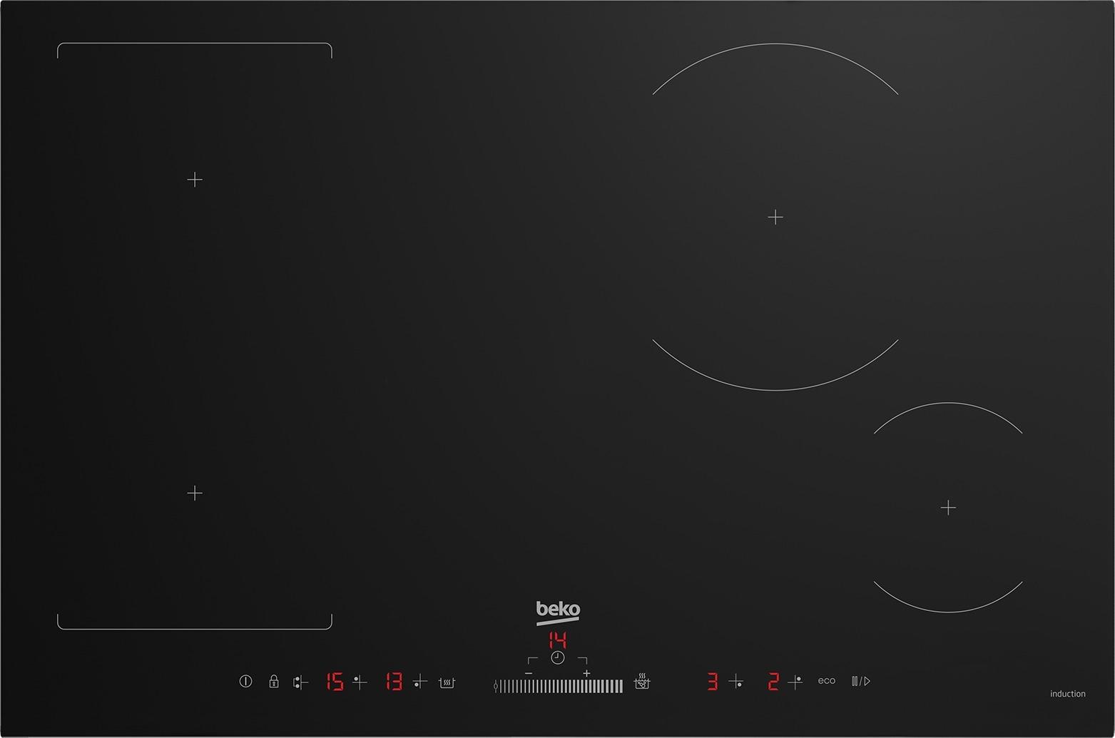 Beko HII84500FHT Inductie inbouwkookplaat Zwart