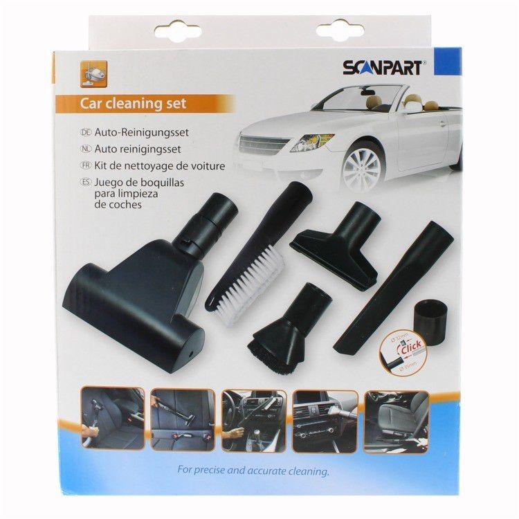 Scanpart stofzuiger accessoire auto reinigingsset 32+35mm