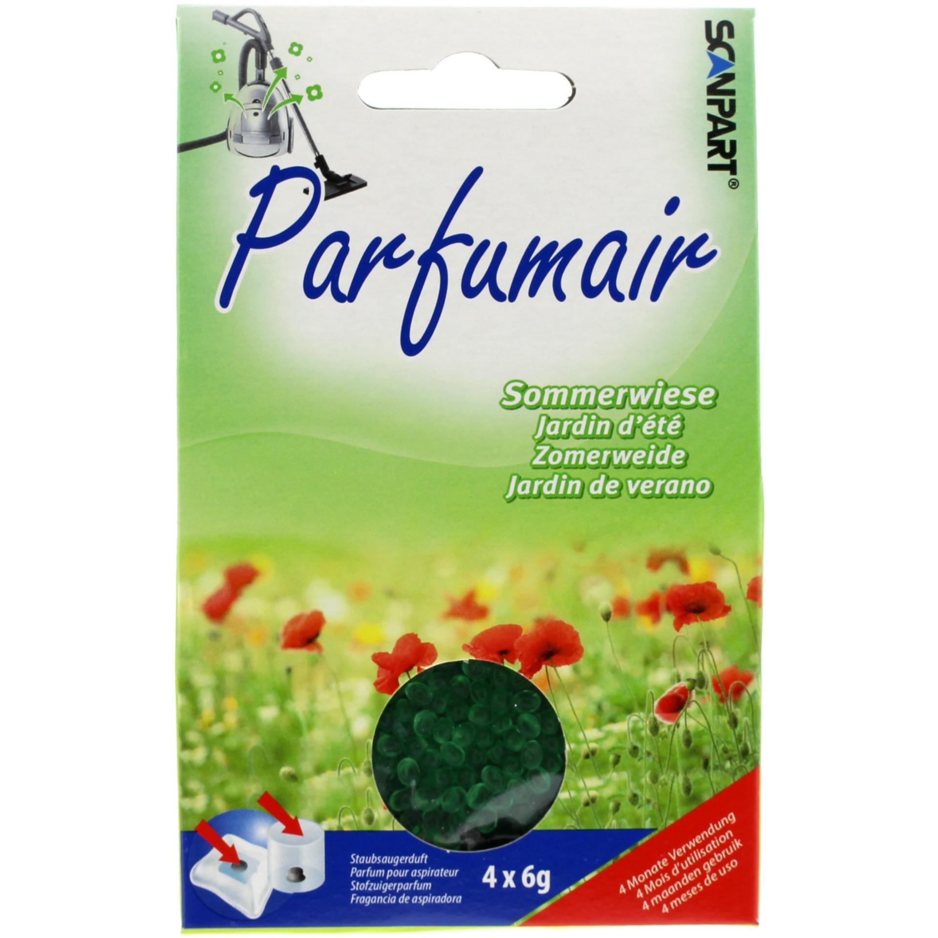 Korting Scanpart Parfumair geurparels zomerweide 4x6g stofzak
