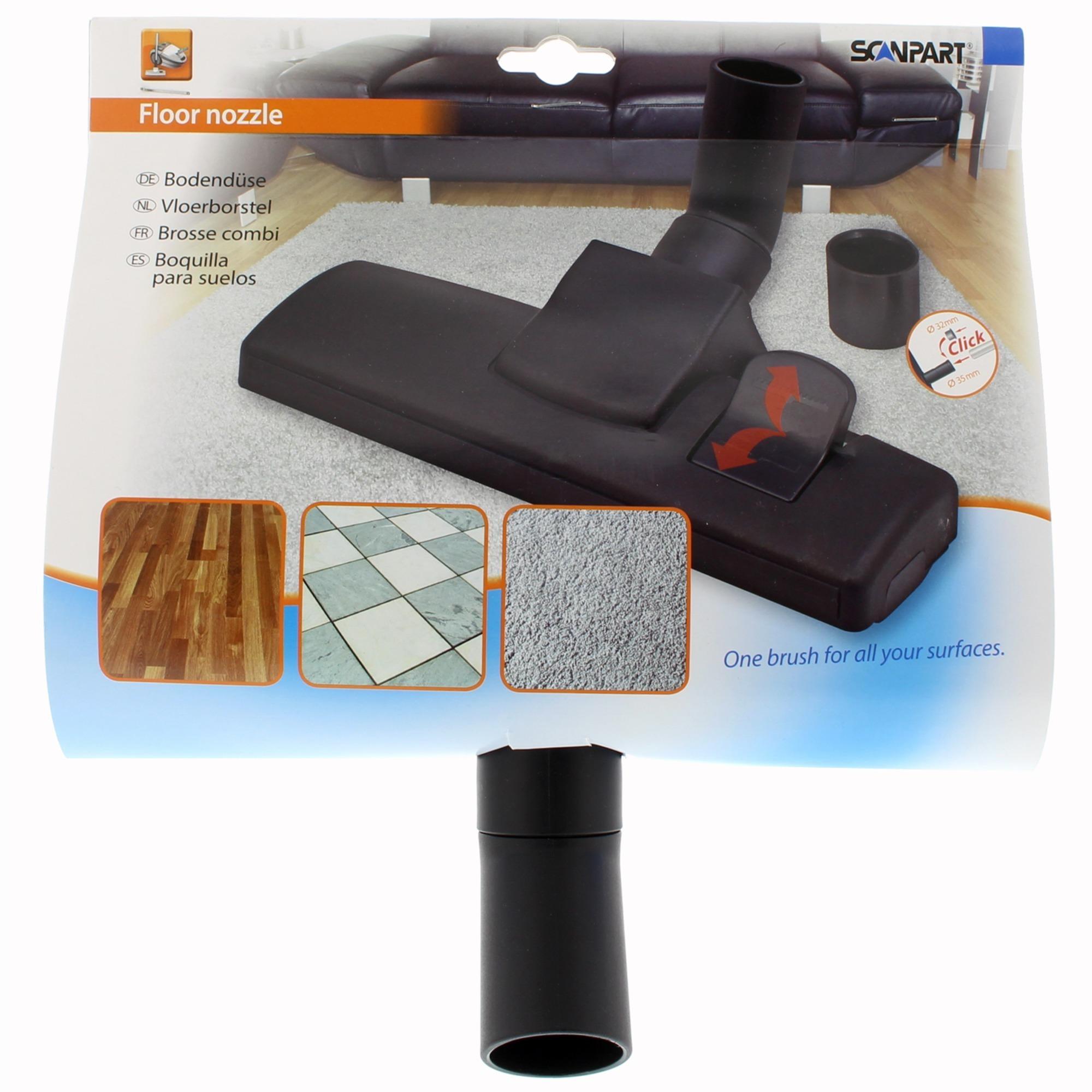 Korting Scanpart combimond 32 plus 35mm borstel