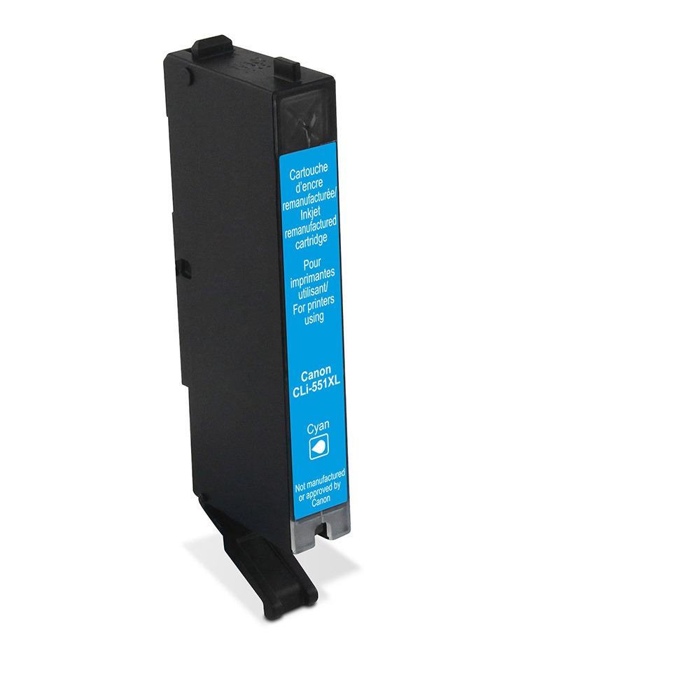 Korting Wecare cartridge Canon blauw 725 pagina s inkt