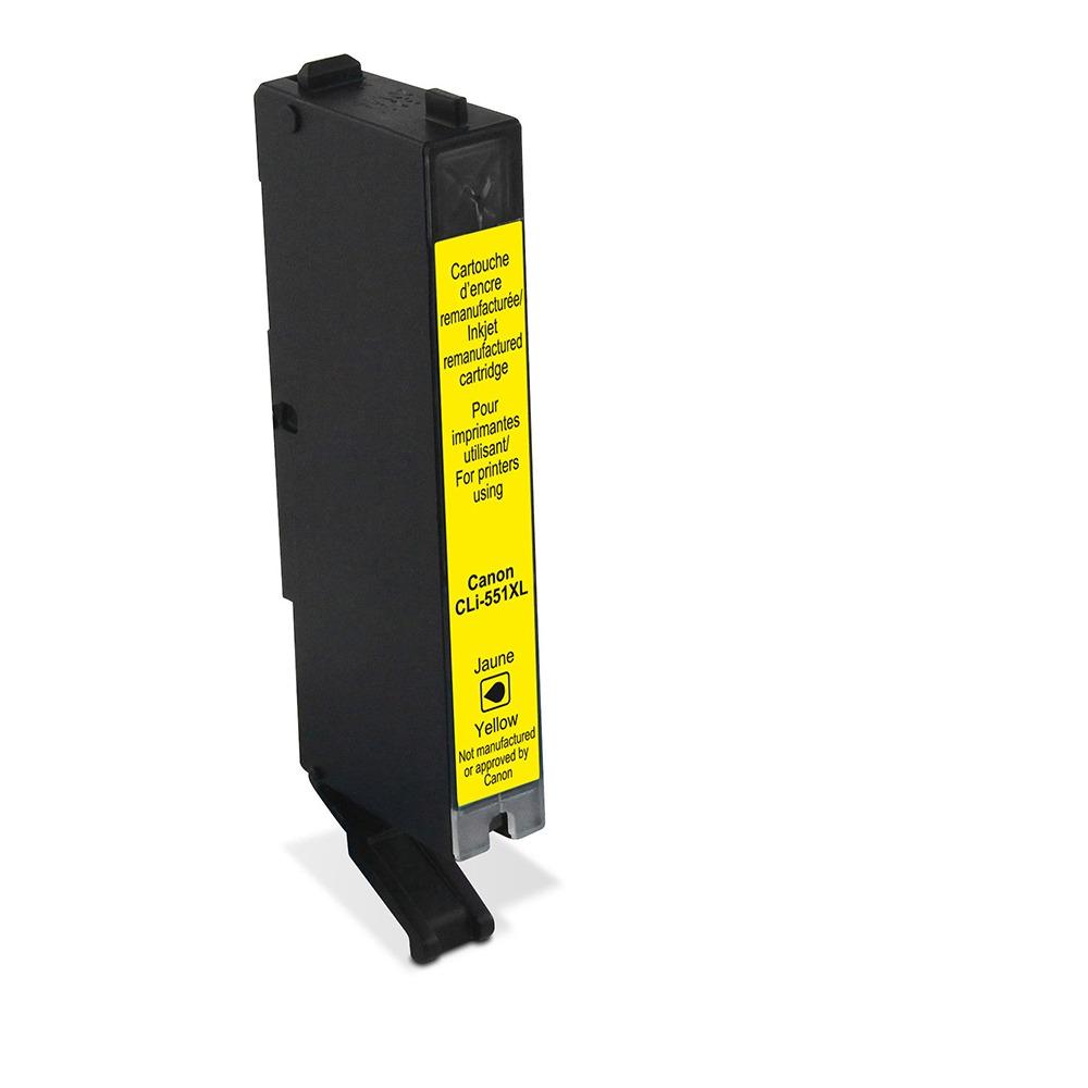 Korting Wecare cartridge Canon geel 730 pagina s inkt