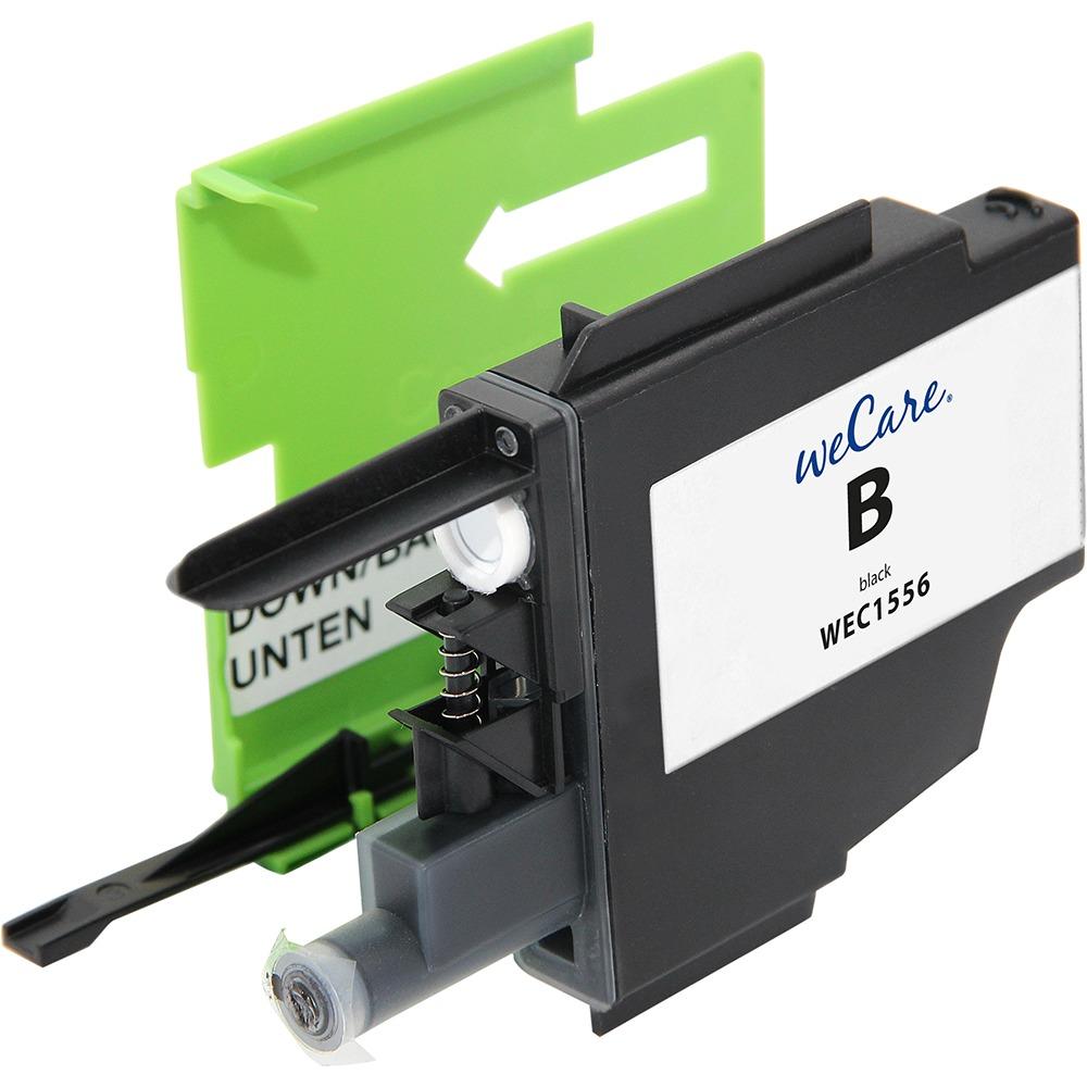 Korting Wecare cartridge Brother zwart 18ml inkt