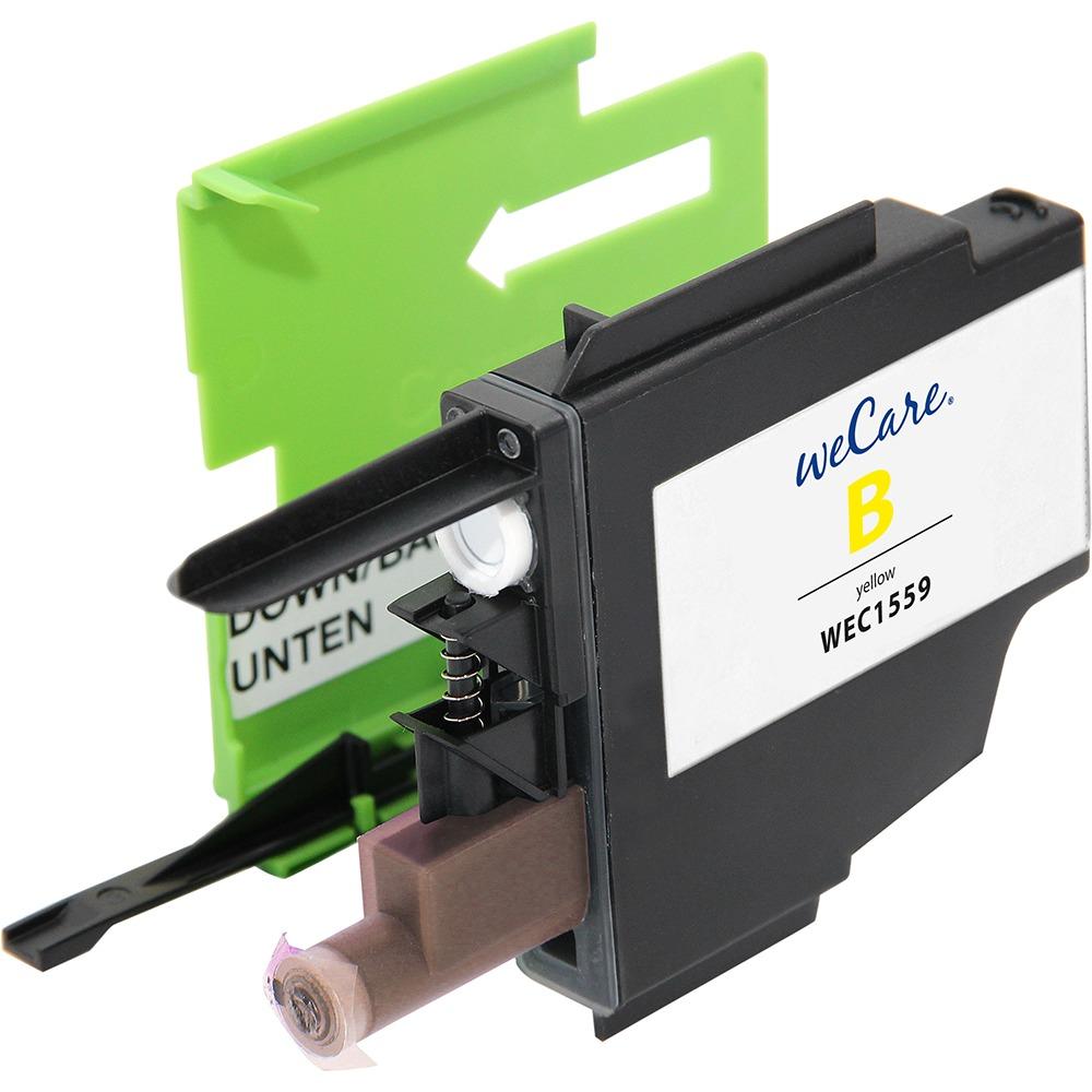 Wecare inkt cartridge Brother geel 18ml