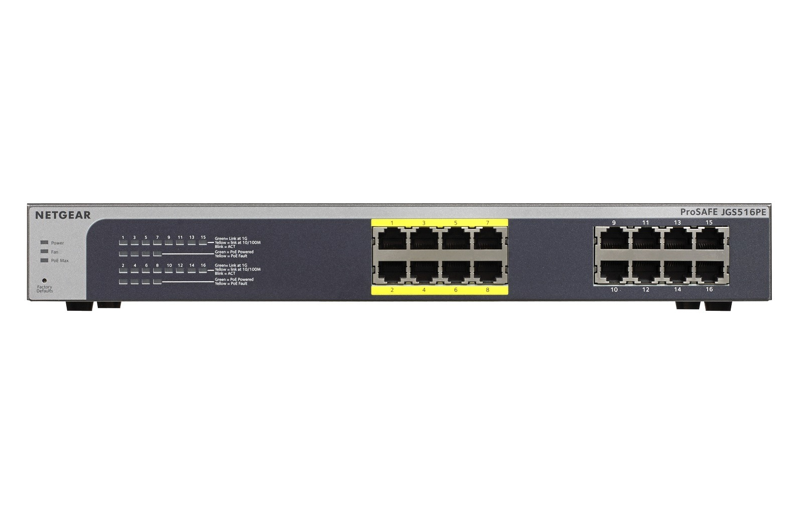 Netgear JGS516PE-100EUS Switch