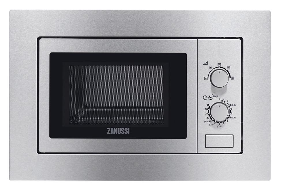Zanussi ZSM17100XA Inbouw Magnetron Aluminium