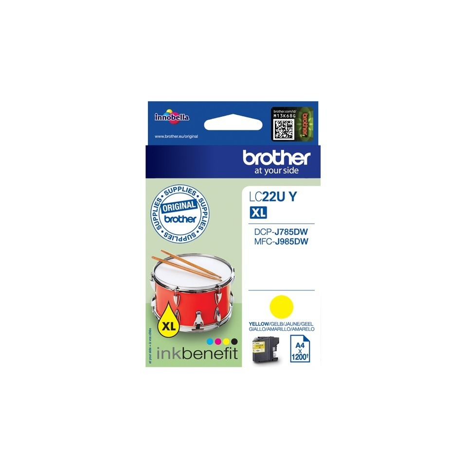 Korting Brother LC 22UMBP inkt