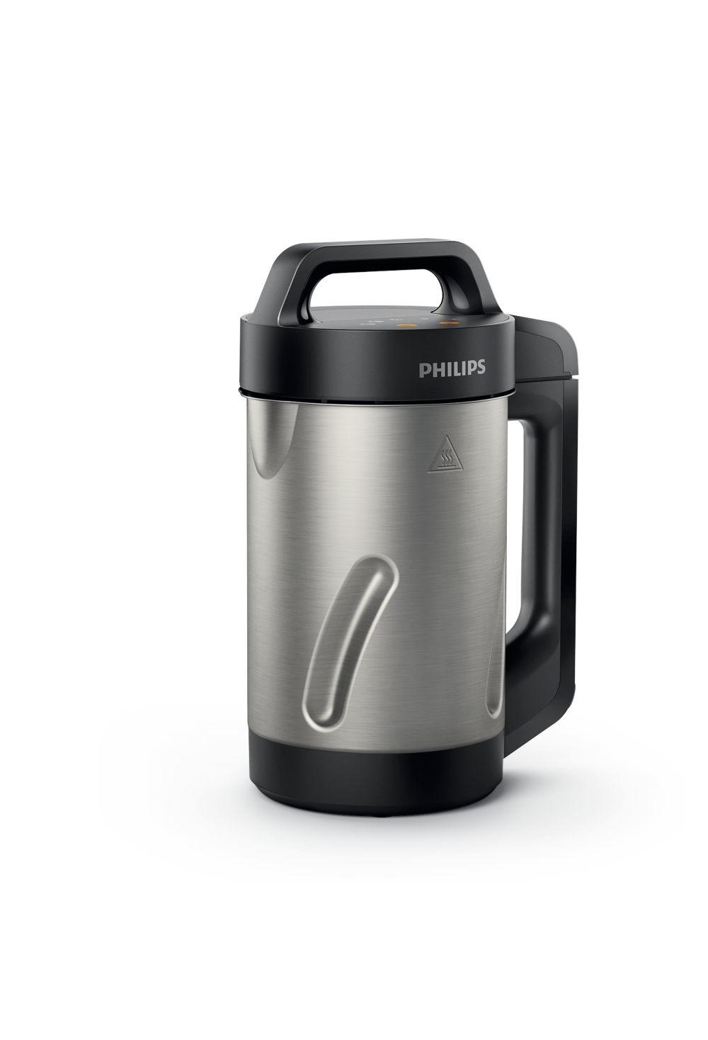 Philips soepmaker HR2203 80 zwart zilver