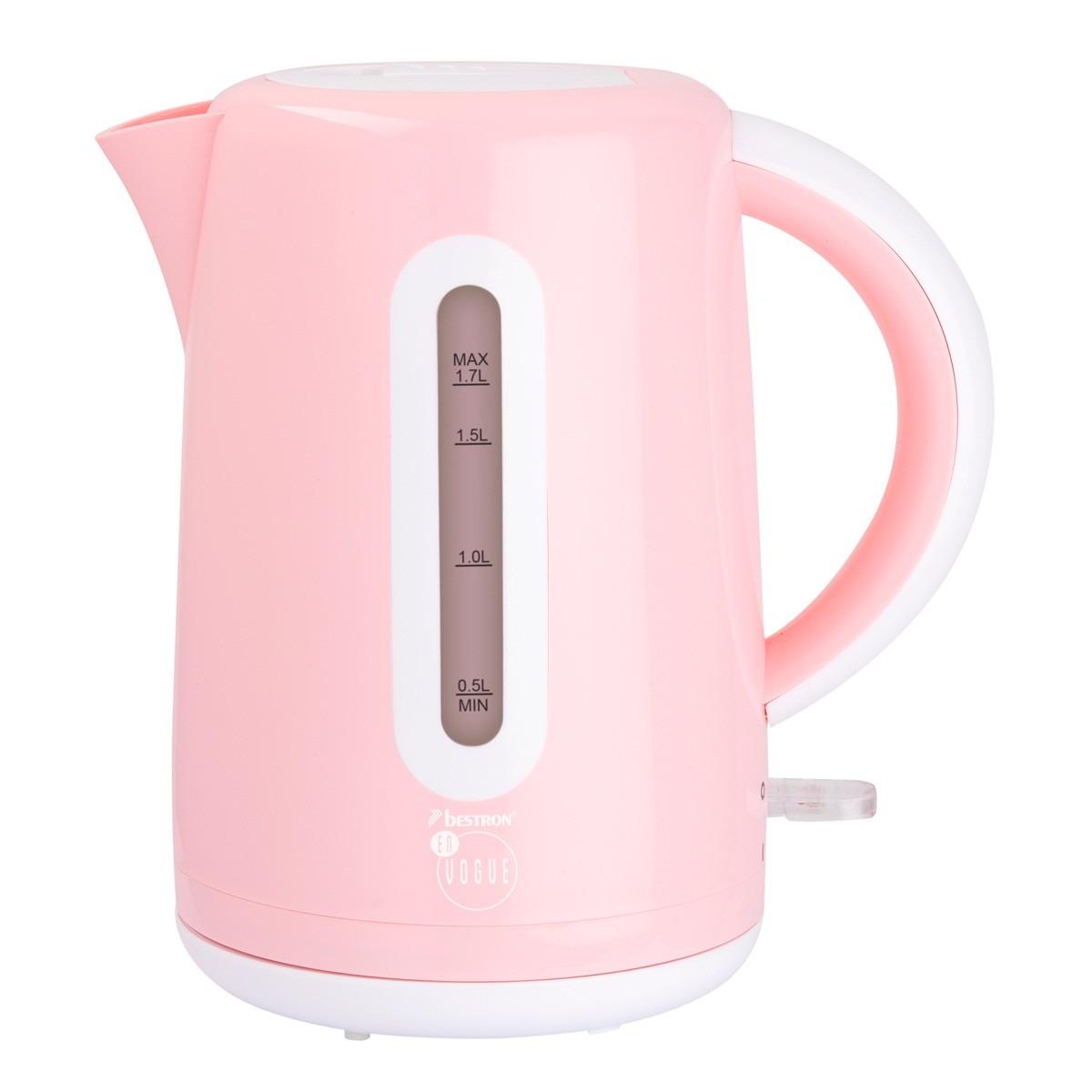 Bestron waterkoker AWK300EVP roze