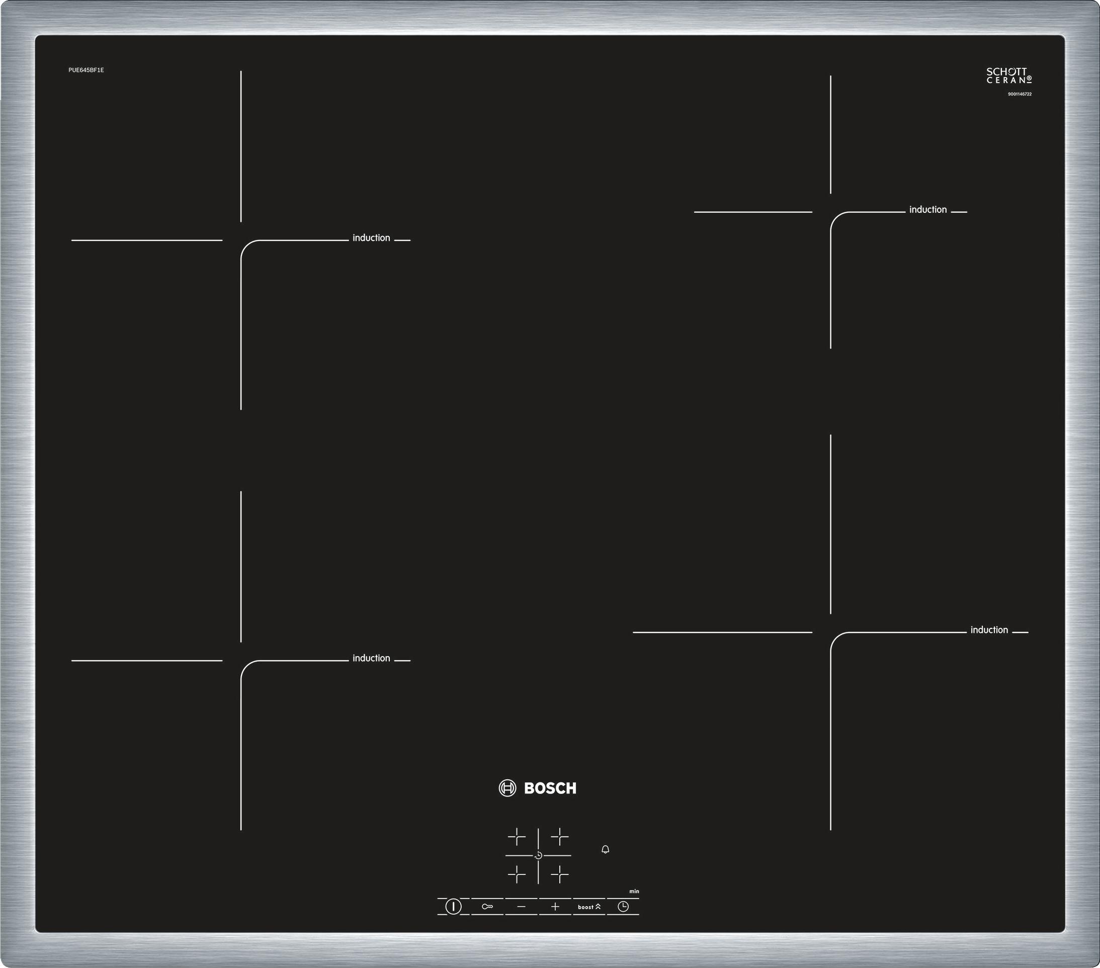 Korting Bosch PUE645BF1E inductie inbouwkookplaat