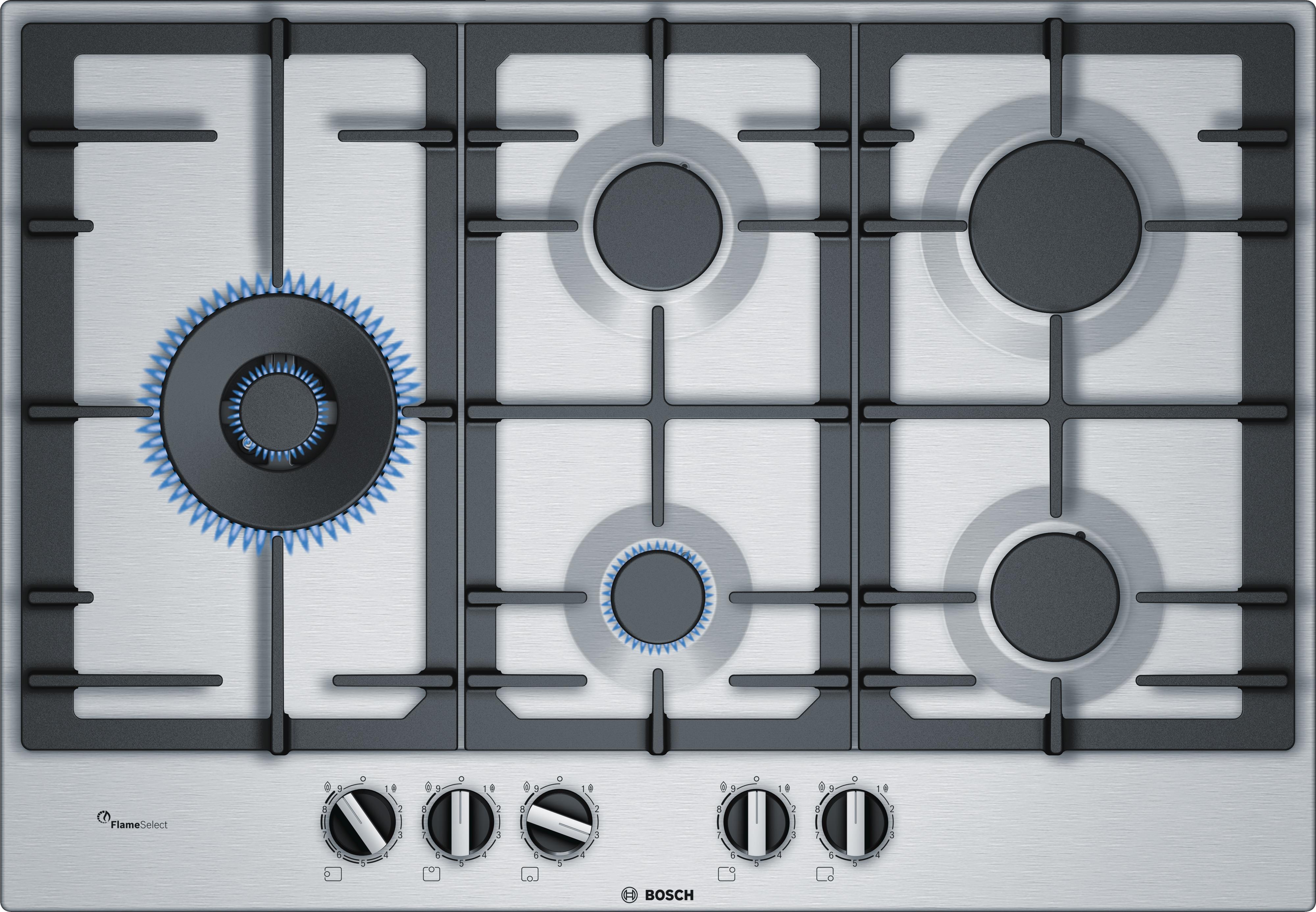 Bosch PCS7A5C90N gas inbouwkookplaat