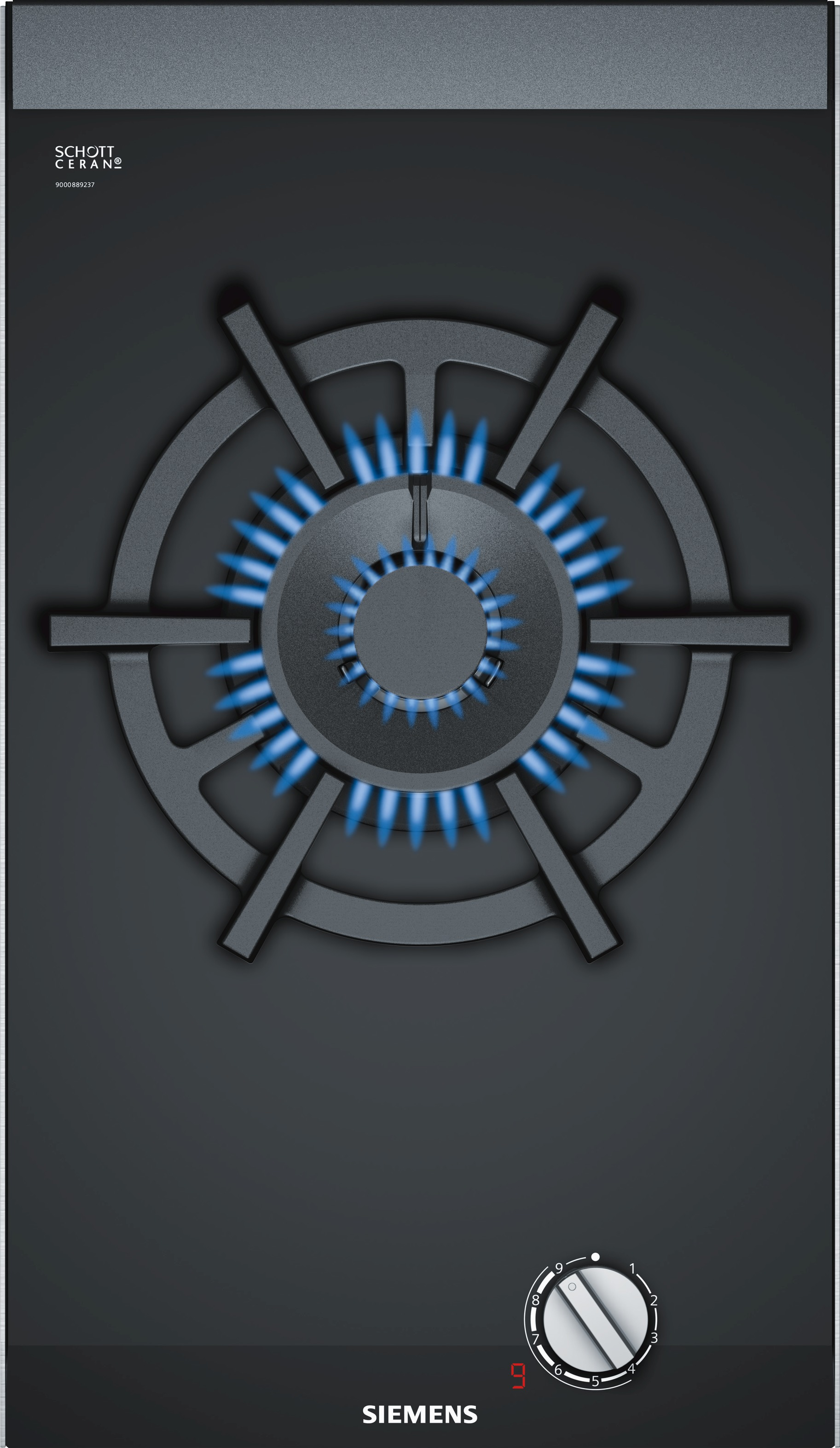 Siemens ER3A6AD70N Gas inbouwkookplaat Zwart