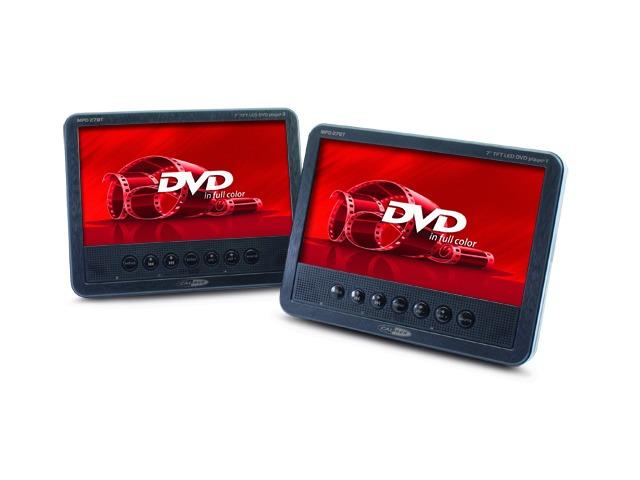 Caliber Portable DVD-speler met 2 stuks 7 inch schermen zwart