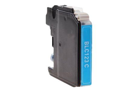 Easyfiks inkt LC 121/123/125 Cyan XL DCPJ4110DW, MFCJ4410DW, MFCJ4710DW