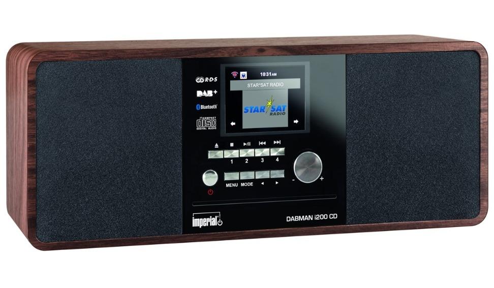 Korting Imperial DABMAN i200 CD hybride radio