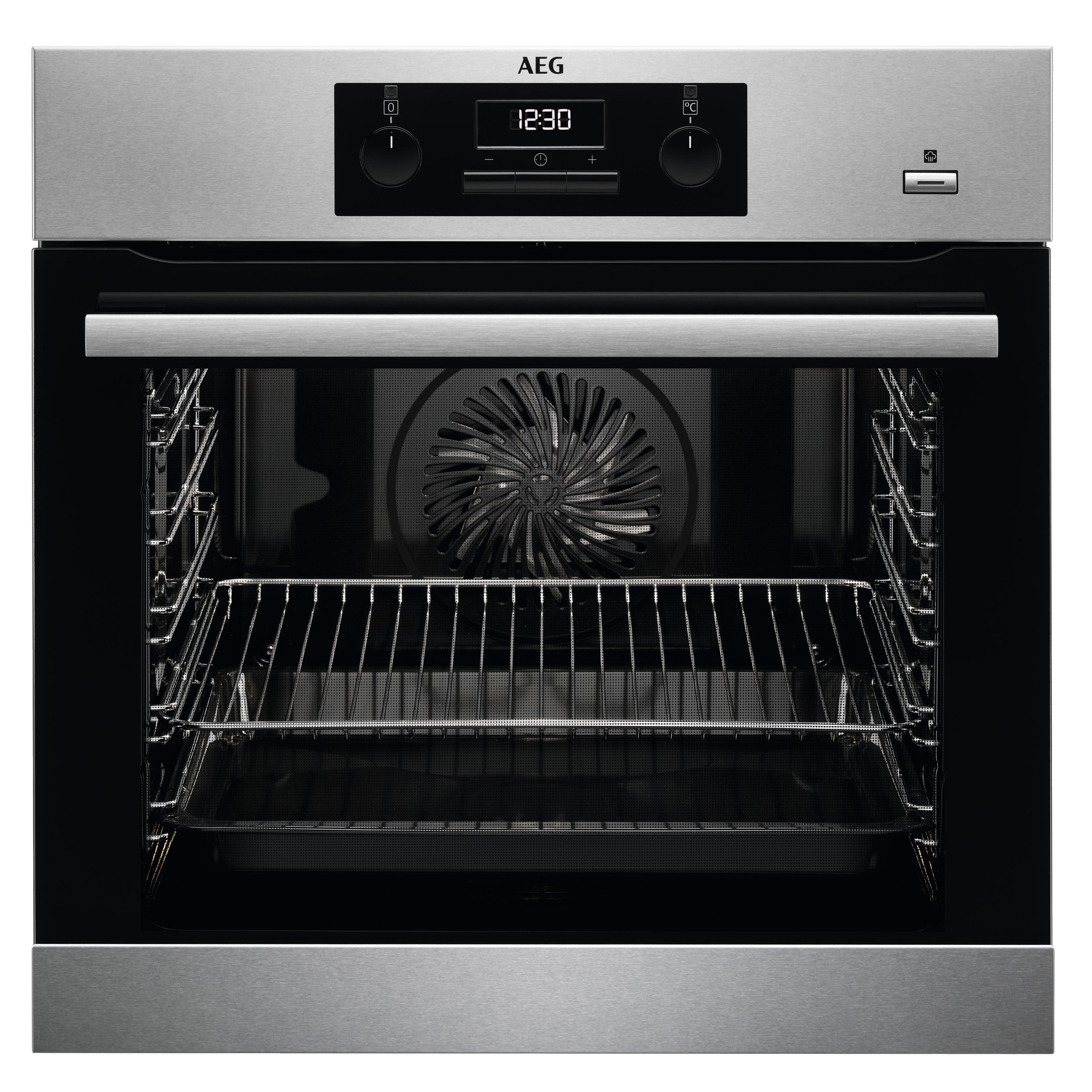 AEG BES351110M SteamBake Inbouw oven Zwart