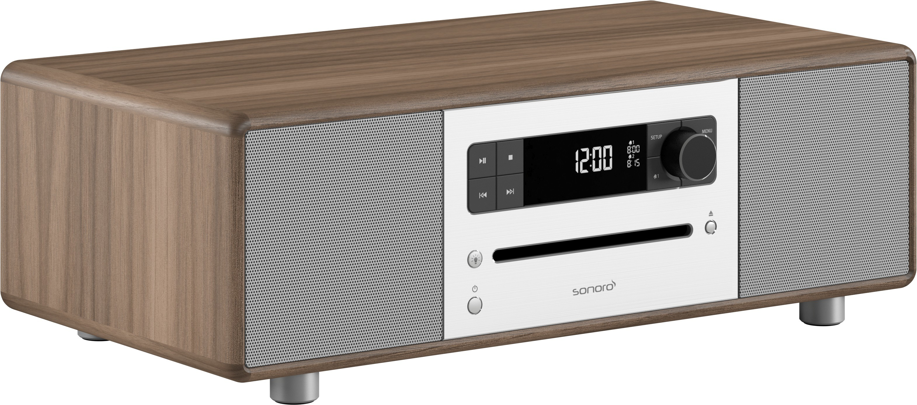 Sonoro stereo set Stereo 320 walnoot