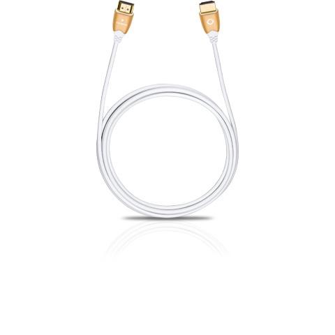 Oehlbach hdmi kabel Slim Vision3 sterren high speed HDMI kabel lengte 125m